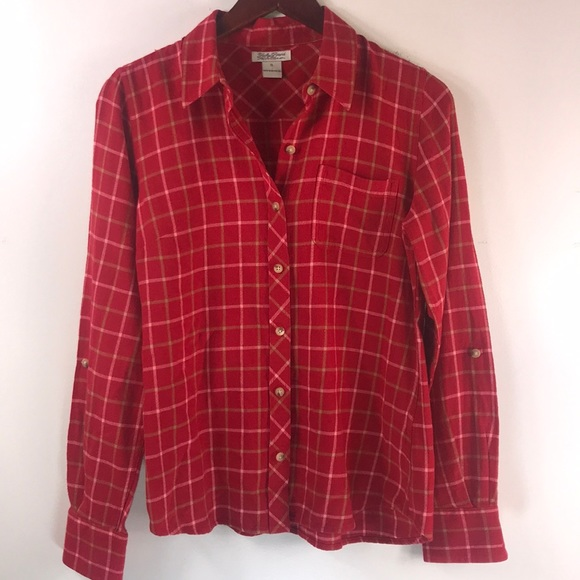 ce4daed2 Lucky Brand Tops | Flannel Shirt | Poshmark